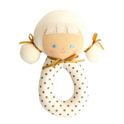 Alimrose - Audrey Grab Rattle - Gold