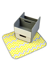 B.Box Essential Nappy Caddy in Mellow Lellow.