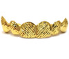 Gold Grill with Diamond Cuts - PG015