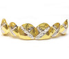 Gold Grill with Diamond Cuts - PG024