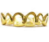 Gold Grill with Diamond Cuts - PG026