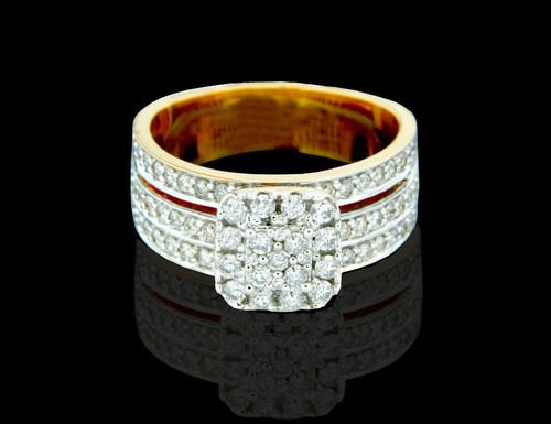 14K Gold 1.00CT Diamonds ladies Engagement Ring