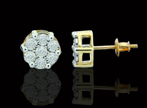 10K Gold 0.40CT Diamond Earrings