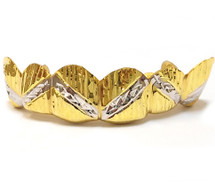 Gold Grill with Diamond Cuts - PG014