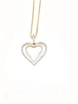 10K Gold 0.20 CT Diamonds Pendant