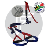 Suspension Trainer with wall mount for body weight training anywhere.