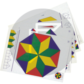 Logi shape cards to proactive shapes and patterning with the logi shapes.