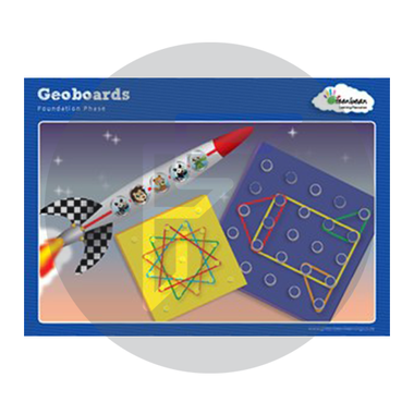 Pattern boards for Geo Boards to develop fine motor control