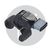 Fox 40 Finger Grip Whistles Black