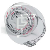 Measuring tape with BMI calculator