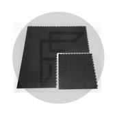 Interlocking Flooring STUD BLACK