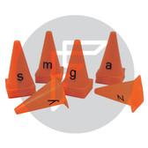 Alphabet Cones Lowercase
