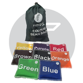 Colour Bean Bags (Set of 8) ENGLISH
