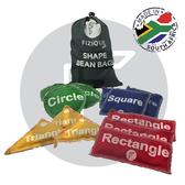 Shape Bean Bags (Set of 12)