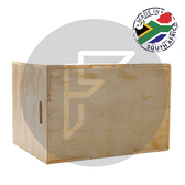 3 in 1 wooden plyometrics box