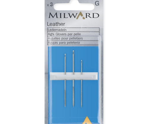 Leather Needle Assortment - No.3-7