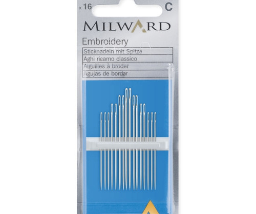 Embroidery Needle Assortment - No.3-9