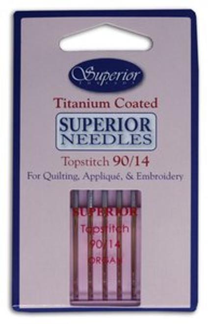 Topstitch Superior Titanium Coated Needle #90/14