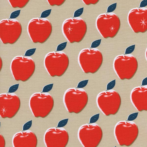 Apple Red - Picnic - Cotton + Steel