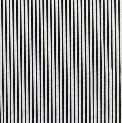 Black Medium Stripe - Sevenberry Cotton