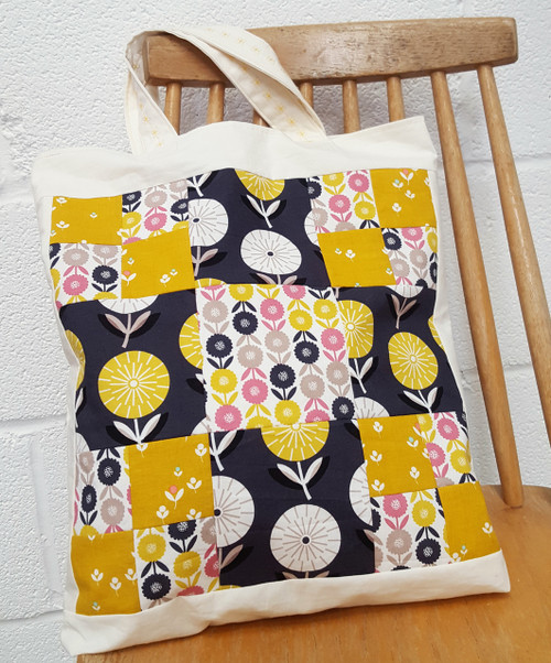 Make a patchwork bag - Beginners' Patchwork workshop - 4th & 18th February 2016