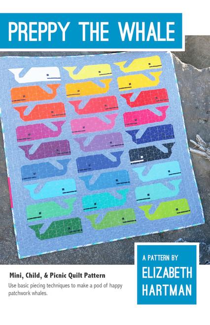 Preppy the Whale - Elizabeth Hartman - Quilt Pattern