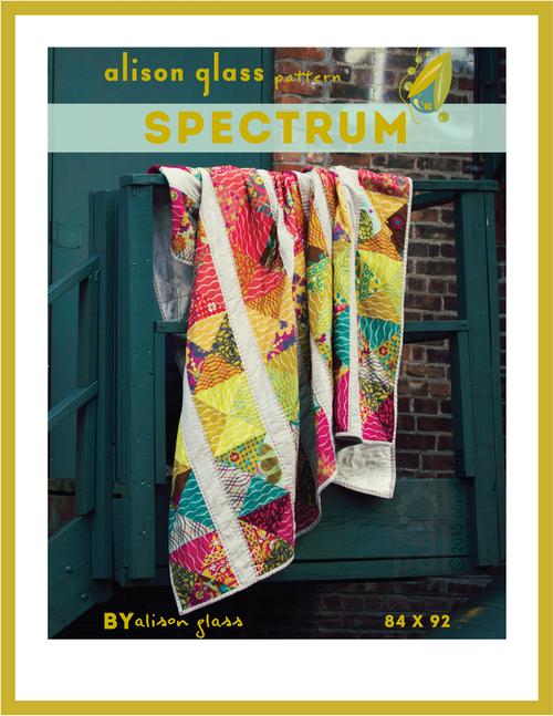 Spectrum Quilt - Alison Glass - Alison Glass Quilt Pattern