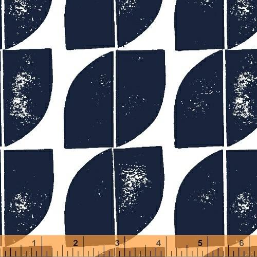 Cocca Denim - Hemma - Lotta Jansdotter - Windham Fabrics - COMING SOON