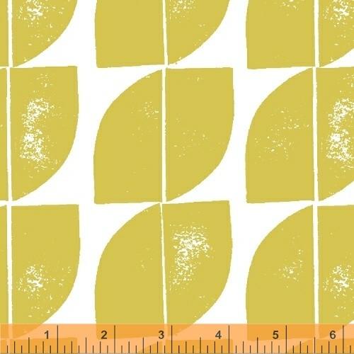 Cocca Citron - Hemma - Lotta Jansdotter - Windham Fabrics - COMING SOON
