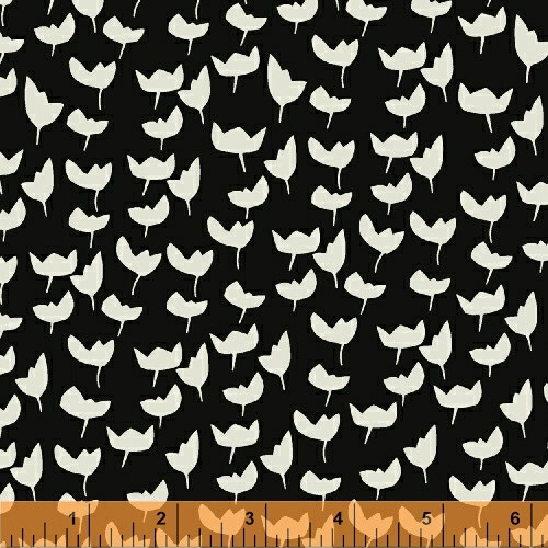 Lilla Emmi Ebony-Gray - Hemma - Lotta Jansdotter - Windham Fabrics - COMING SOON