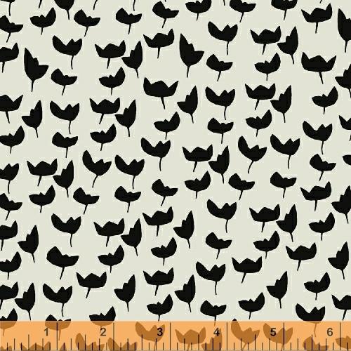 Lilla Emmi Gray-Ebony - Hemma - Lotta Jansdotter - Windham Fabrics - COMING SOON