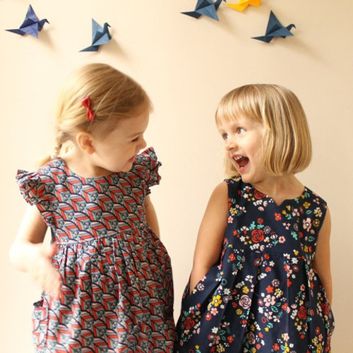 Sew a Geranium Dress (new born to 5 years) Workshop - 2 days workshop - 4th & 5th October