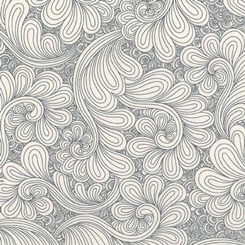 "Drawn in Steel - Wide back (108"") - Angela Walters - Robert Kaufman"