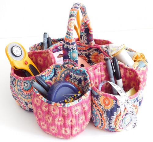 Honeycomb Basket - Beth Studley - Paper Pattern