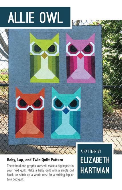 Allie Owl - Elizabeth Hartman - Quilt Pattern