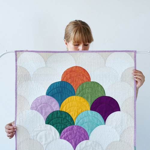 Clamshell Quilt with Jenny Haynes - Machine Pieced Curve Workshop - Sunday 26th March 2017