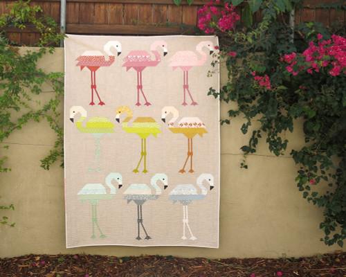 Florence Flamingo - Elizabeth Hartman - Quilt Pattern