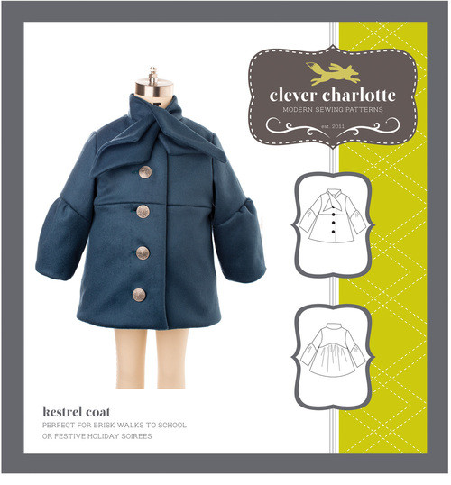 Kestrel Coat (2 - 8 years) - Clever Charlotte
