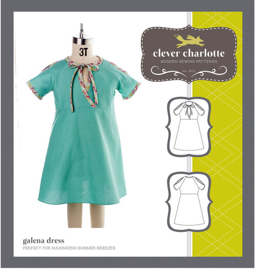 Galena Dress (2 - 8 years) - Clever Charlotte