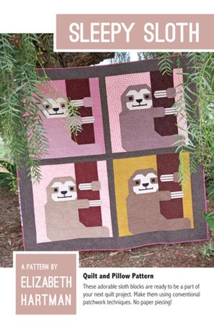 Sleepy Sloth - Elizabeth Hartman - Quilt Pattern