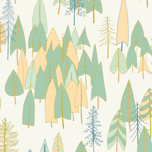 Forest in White - Altitudes - Pippa Shaw- Dashwood Studio
