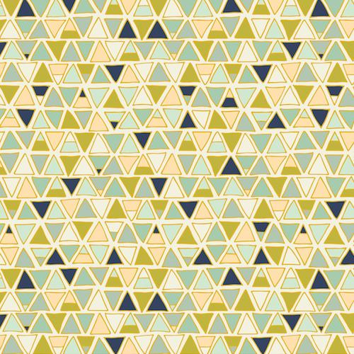 Triangles in Cream - Altitudes - Pippa Shaw- Dashwood Studio