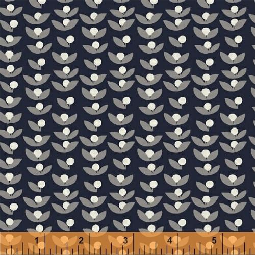 Lilla Tove Indogo - Lilla - Lotta Jansdotter - Windham Fabrics