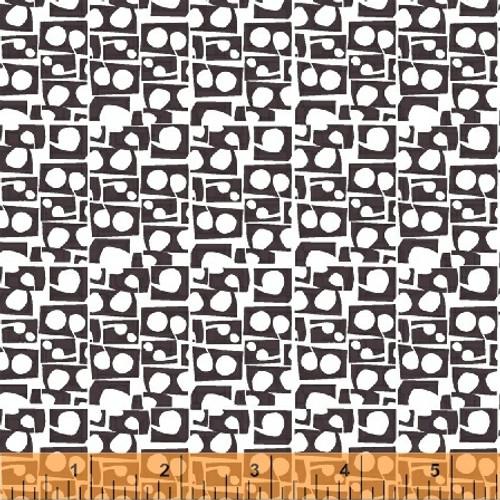 Prata Stone Grey - Lilla - Lotta Jansdotter - Windham Fabrics