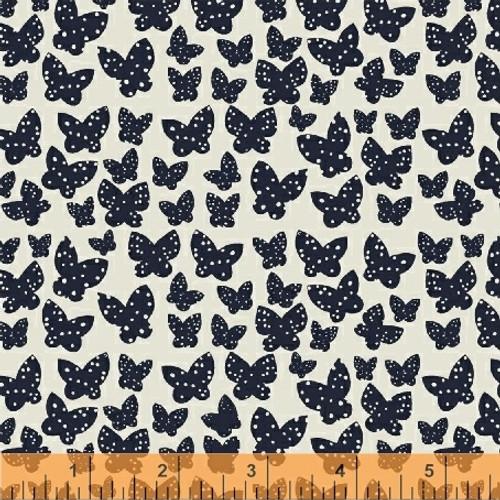 Minna Indigo - Lilla - Lotta Jansdotter - Windham Fabrics