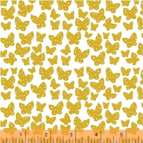 Minna Buttercup Yellow - Lilla - Lotta Jansdotter - Windham Fabrics