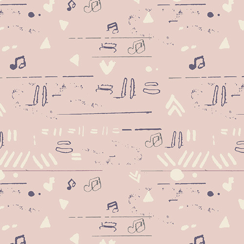 Paint It Subtle - Heart Melodies - AGF Studio - Art Gallery Fabrics