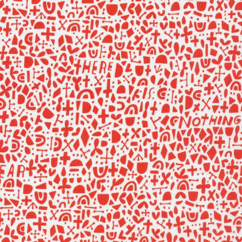 Credo Red - Kindred - Lisa Congdon - Cloud9 Fabrics
