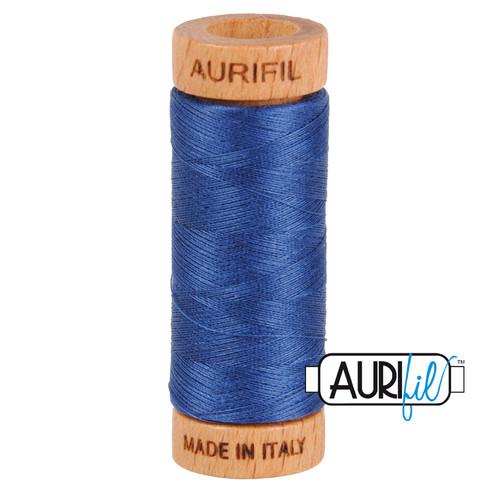 Aurifil Thread 2775 STEEL BLUE 80wt