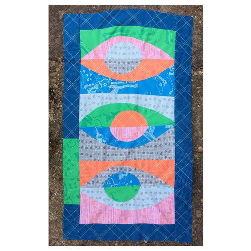 Curved Foundation Paper Piecing Class with Jenny Haynes - Quilting class in Basingstoke